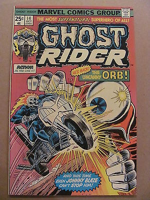 Ghost Rider #14 Marvel Comics 1973 Series 9.0 Very Fine/Near Mint