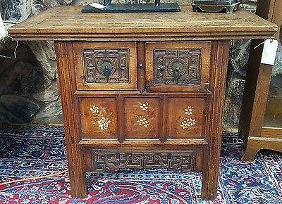 Antique Chinese / Tibetan Two Drawer Cabinet