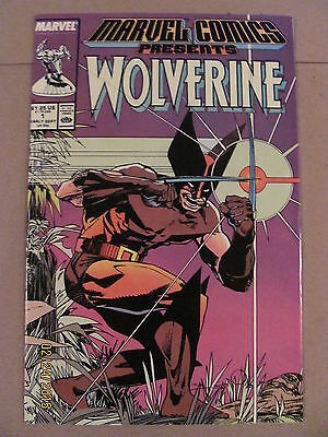 Marvel Comics Presents #1 Wolverine 1988 Series Man-Thing Silver Surfer 9.2NM-