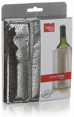 Rapid Ice Wine Active Cooler Instant & Optimal Chill Bottle  - Silver