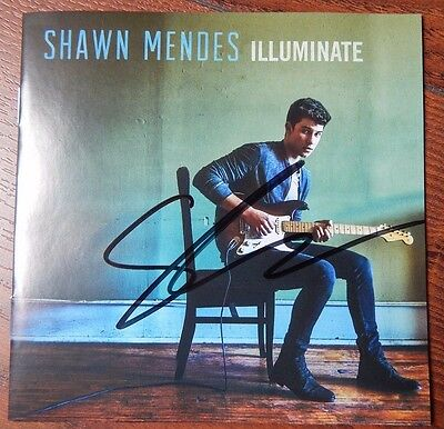 SHAWN MENDES Illuminate NEUE CD Autogramm original signiert SELTEN IN PERSON