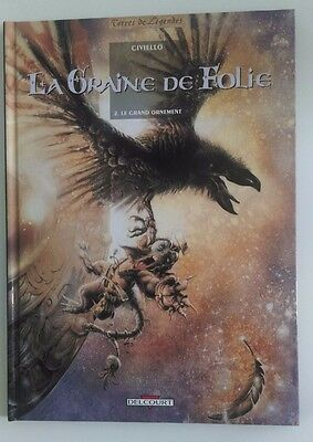 EO 06/1998 La Graine de Folie T.2 Le Grand Ornement Civiello Delcourt