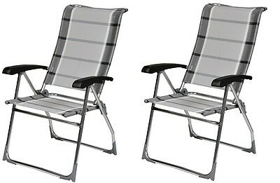 Swell X2 Dukdalf Aspen Folding Caravan Chair Grey Stripe Latest Gmtry Best Dining Table And Chair Ideas Images Gmtryco