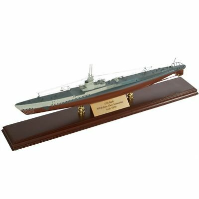 "UNSN World War II Gato Class Submarine 26"" Built Wooden Model Boat Assembled"