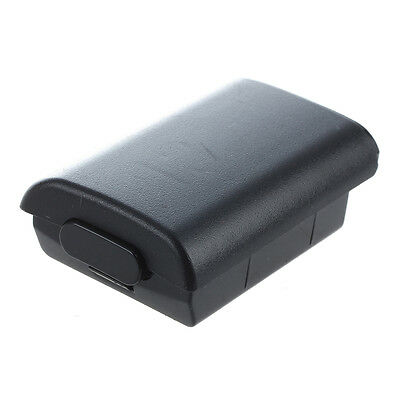 5x(Lid Cover Case Cover Case BLACK Battery for Microsoft Xbox 360 Controller BF
