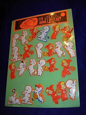 Casper The Friendly Ghost Cartoon Magnets Store Display Set Wendy Spooky Sealed