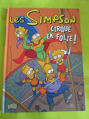 Bd / Les Simpson N°11 Cirque En Folie ! / Jungle / 2010 / B16E2