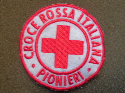 Toppa O Patch Croce Rossa Italiana - Pionieri