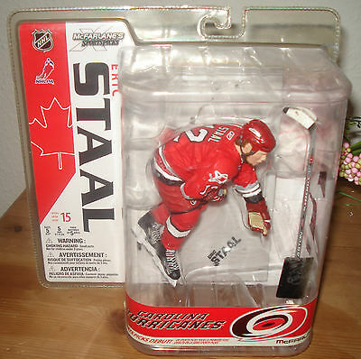 NHL Mcfarlane Hockey Series 15 Eric Staal Figure Carolina Hurricanes