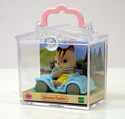 Sylvanian Families Squirrel On A Car +3A Cod.5203