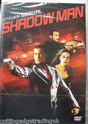 Shadow Man Steven Seagal (DVD, 2006) NEW SEALED (Nordic Packaging) PAL