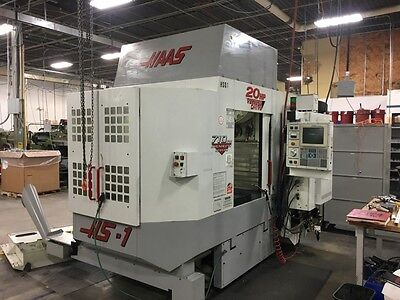 Used Haas HS1-RP CNC Horizontal Machining Center Mill 10,000 Full 4th Axis 1998