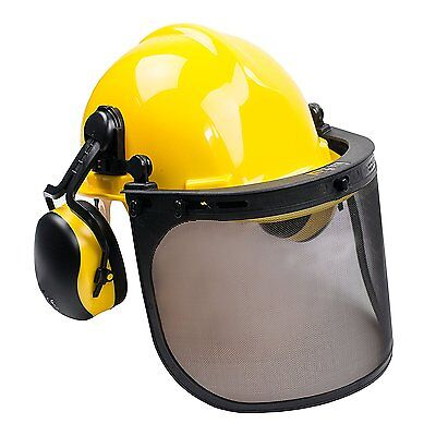 RK Safety Visor Chainsaw Safety Protective Helmet Combo,Ear Muffs -RK-SHC101