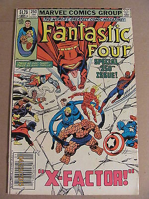Fantastic Four #250 Marvel Comics 1961 Series Newsstand Edition