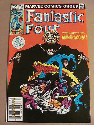 Fantastic Four #254 Marvel Comics 1961 Series Newsstand Edition