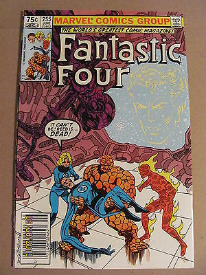 Fantastic Four #255 Marvel Comics 1961 Series Newsstand Edition