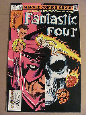 Fantastic Four #257 Marvel Comics 1961 Series
