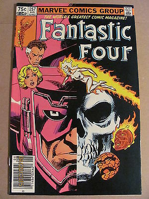Fantastic Four #257 Marvel Comics 1961 Series Newsstand Edition