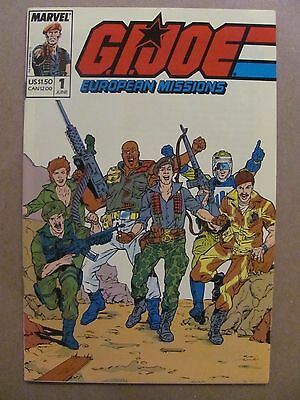 GI Joe European Missions #1 Marvel Comics 1988 Series 9.2 Near Mint-