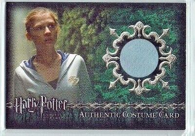 Harry Potter Goblet Fire Update Costume Card C13 Poesy Fleur Delacour 122/900