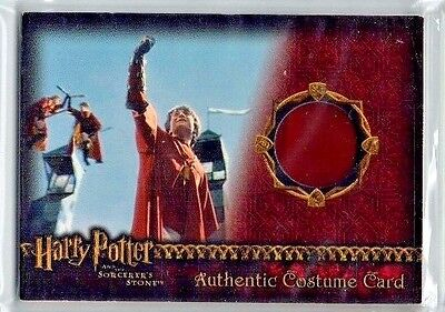 Harry Potter Sorcerer's Stone Harry Potter Red Quidditch Costume Card 104/410