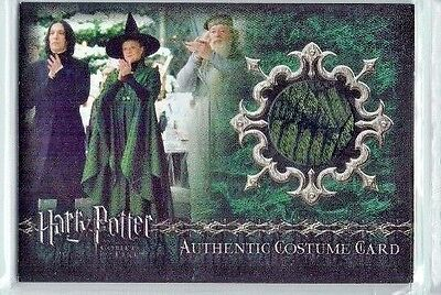 Harry Potter Goblet of Fire Update Minerva McGonagall's C3 Costume Card 150/350