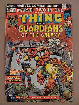 Marvel Two-in-One #5 Guardians of the Galaxy 2nd appearance 1974