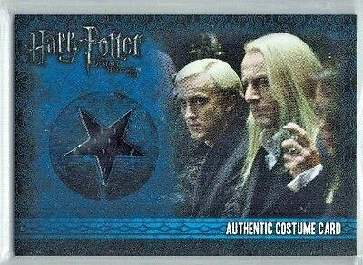 Harry Potter Deathly Hallows Part 1 Lucius Malfoy C5 Costume Card 066/500