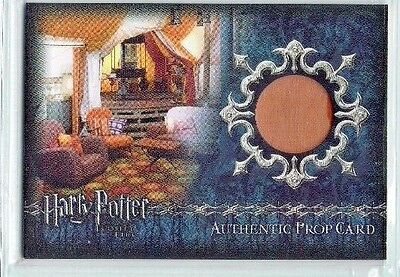 Harry Potter Goblet of Fire Update Prop Card P4 Weasley Tent Material 261/250