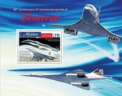Z08 IMPERFORATED MLD16810b MALDIVES 2016 Concorde MNH