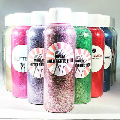 Glitterlution Biodegradable Glitter - Premium cosmetic face/body glitters