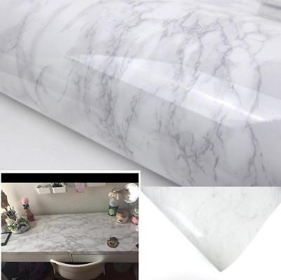 Brown Granite Wallpaper Marble Effect Vinyl Adhesive Roll Decorative Wrap Stick