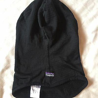Patagonia Sun Mask Facemask Skimask Black Size Medium