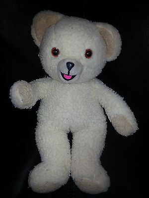"Vintage 1986 SNUGGLE BEAR 10"" Plush Advertising Doll Toy Fabric Softener Russ"