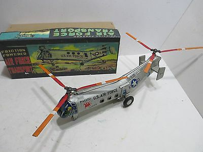 Piasecki H-21 Fling Horse Helicopter Near Mint In Original Box Made In Japan 15""