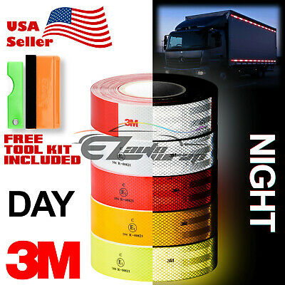 """3M 2"""" x 150' Diamond Grade Conspicuity Reflective Tape CE Approved Safety Sign"""