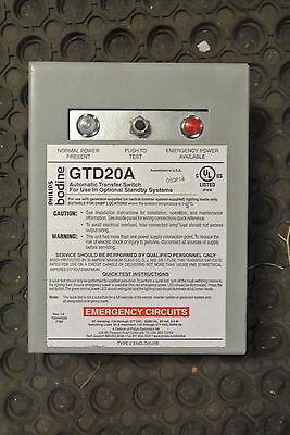 Phillips GTD20A Automatic Transfer Switch - USED