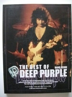 """the Best Of Deep Purple"" Japan Band Score Guitar Tab"