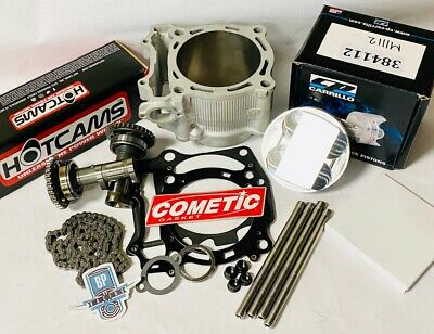 DRZ400 DRZ 400 400S 400E 94mm 434cc +4 CP Stage 2 Hotcams Big Bore Cylinder Kit