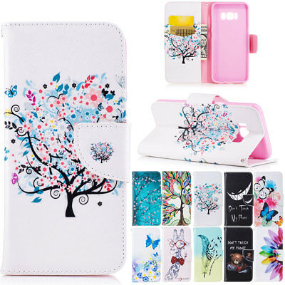 Flip Wallet Leather Case Cover Stand Pouch Folio For Samsung Galaxy Note 5 4 3