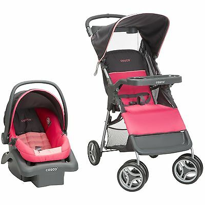 Strollers And Car Seat Combo Baby Boy Girl Toddler Safety Travel System Folding