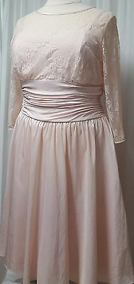 NWT Jessica Howard Illusion Lace Event Party Dress Size 14W 18W Retail $120