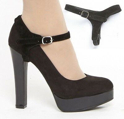 Detachable Shoe Straps Shoostraps (TM) - To hold loose heels, wedges, flat shoes