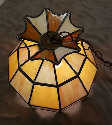 stained glass chandelier tiffany style true slag glass leaded stained chandelier hanging light fixture 15 true slag glass