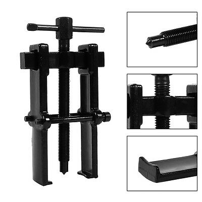 """Two Jaws Bearing Gear Puller Pull Out  Remover Hand Tool Kit For Car 2 3 4 6 8"""""""