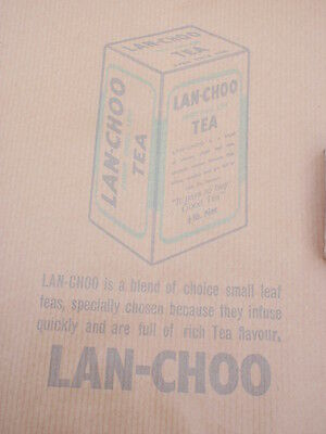 Lan choo Tea  Paper Bag