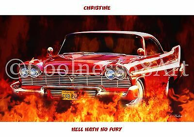 A4 size Christine Original Art Print