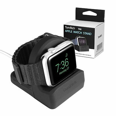 TomRich T90 Stand Charge Nightstand Mode for Apple Watches Series 1/2/42Mm/38M