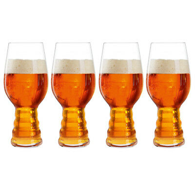 NEW Spiegelau India Pale Ale Beer Glass Set 4pce