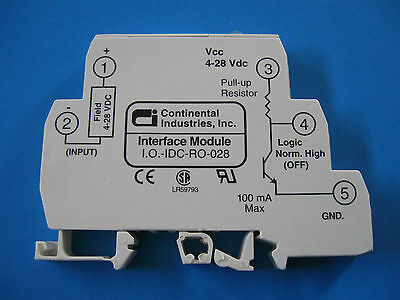 Continental Interface Module LR59793 Vcc 4-28 Pull-up Resistor I.O.-IDC-R0-028